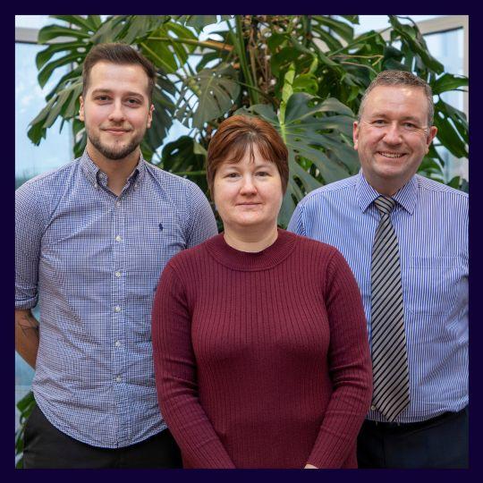 Sabrina Wedge, Ben Major & Ian Craven